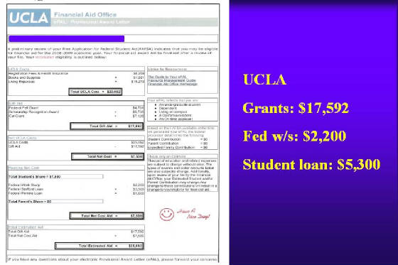 how to get financial aid with high income